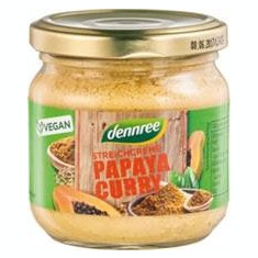 Pate Bio Vegetal cu Papaya si Curry Dennree 180gr Cod: 412828