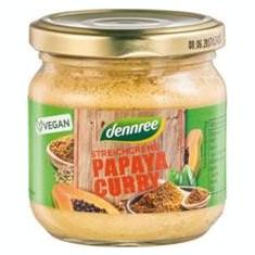 Pate Bio Vegetal cu Papaya si Curry Dennree 180gr Cod: 412828