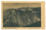 3178 - Cetatea RASNOV, Brasov, Romania - old postcard - unused - 1917, Necirculata, Printata