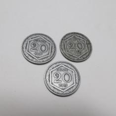 Vând monede Italia 20 cent 1918,1919,1920