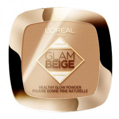 Pudra Bronzanta L Oreal Paris Glam Beige Healthy Glow Powder Medium Light 9 g