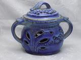 Vas ceramica semnat