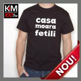 Tricou KM Personalizat CA SA MOARA - cod: TRICOU-KM-069
