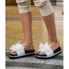 Fancy Slippers Alb 40