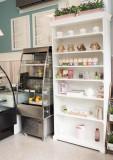 Vand vitrina frigorifica verticala cu perdea de aer rece