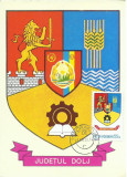 TSV* - MAXIMA CARAS-SEVERIN - STEMA JUDETULUI HERALDICA