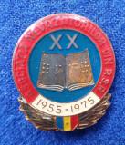 Insigna Asociatia NEVAZATORILOR din Republica Socialista Romania -  EVIDENTIAT