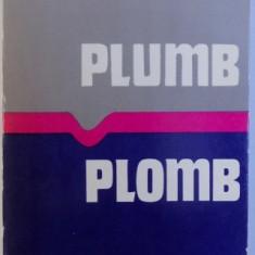 PLUMB de GEORGE BACOVIA (EDITIE BILINGVA ROM. -FRANCEZA ) , 1982