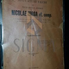 TANOVICEANU I. - APUCATURI VACHI ALE NOUEI SCOALE ISTORICE NICOLAE IORGA ET. COMP.