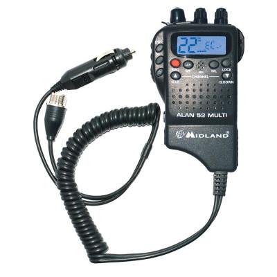 Resigilat : Statie radio CB portabila Midland Alan 52 Multi foto