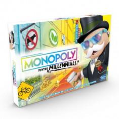 Joc de societate Monopoly Millennials E4989 Hasbro