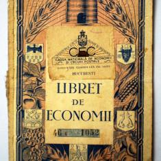 O.007 ROMANIA CEC LIBRET REGALIST DE ECONOMII 1935 173/127mm