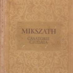 Kalman Mikszath - Căsătorie ciudată