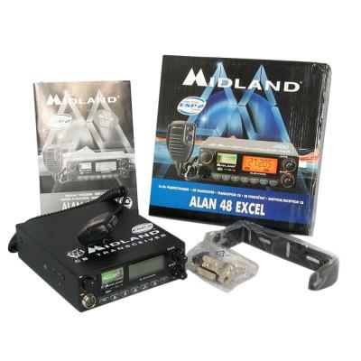 Resigilat : Statie radio CB Midland Alan 48 excel Cod C580.03 foto