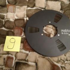 9. Banda Magnetofon REVOX rola metalica 26cm-Black (Akai,Teac,Tascam,Agfa,BASF)