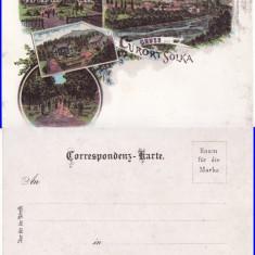 Solca (Suceava, Bucovina )- litografie cca 1899