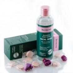 Masca faciala cu apa florala de trandafiri, Biorose, cu vitamina C si acid...