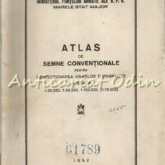 Atlas De Semne Conventionale Pentru Confectionarea Hartilor Topografice La Scara