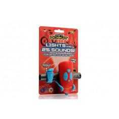 Claxon Mini Hornit cu lumina - Rosu si albastru