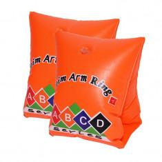 Aripioare inot pentru copii, gonflabile, set 2 bucati, portocaliu