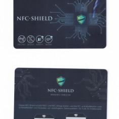 Card protectie NFC Shield pt carduri bancare de credit impotriva furt de date