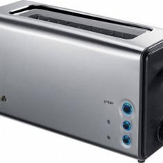 Prajitor de paine Arielli AET-1011 2 felii 5 nivele 1050W Argintiu