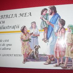 BIBLIA  MEA  CU  ILUSTRATII  ( stare foarte buna, ilustrata color, cartonata ) *