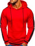 Cumpara ieftin Hanorac bărbați roșu Bolf 99007