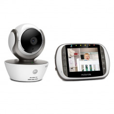 Resigilat : Video Baby Monitor Motorola MBP853 Connect cu ecran 3.5 inch si monito