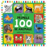 Primele 100 de animale. Carte cu ferestruici |