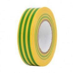 Banda izolatoare galben verde 10m, Strend Pro E130YGR