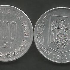 ROMANIA   500   LEI  2000   [01]  XF+  ,   livrare in cartonas