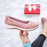 Balerini dama piele roz Vistio-20-rl