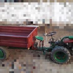 Motocultor + freza + remorca, 14 cp, 4x4 diesel