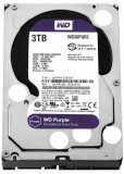 Cumpara ieftin HDD intern WD, 3.5, 3TB, PURPLE, SATA3, 5400rpm, 64MB, Surveillance HDD