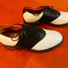 Piele naturala Nike Air Comfort Golf Gore-Tex; marime 42.5 (27 cm); impecabili