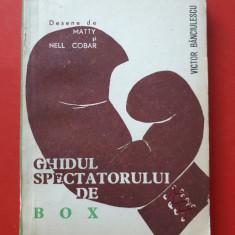 GHIDUL SPECTATORULUI DE BOX × Desene de MATTY si NELL COBAR