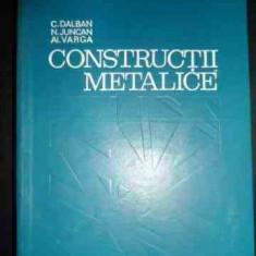 Constructii Metalice - C.dalban N.juncan Al.varga ,543740