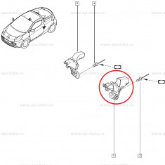 Nit metalic fixare panou, gura umplere rezervor, Renault Master 3, Renault 21, Renault Wind, Original Renault 7703072251 Kft Auto