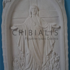 Icoana cu Iisus - figurina ipsos