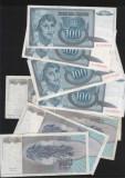 Iugoslavia Yugoslavia 100 dinara dinari 1992 VF-XF pret pe bucata