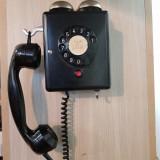 "Cumpara ieftin TELEFON DE PERETE CU DISC SI SONERIE EXTERIOARA-WEIDMAN-ANII ""60"