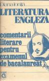Limba engleza, comentarii literare pentru examenul de Bac - Diana Ionita
