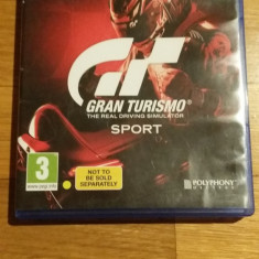 PS4 Gran Turismo Sport joc original / by WADDER, Curse auto-moto, 3+, Multiplayer