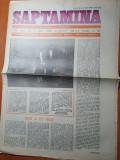 saptamana 13 ianuarie 1989-articol nadia comaneci,vibrant omagiu elena ceausescu
