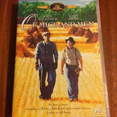 Of mice and men (1 DVD original film dupa John Steinbeck - Ca nou!)
