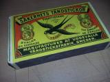 cutie de chibrituri Mare Vintage,cutie de chibrit originala veche,T.GRATUIT