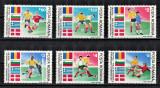 ROMANIA 1990 - Sport, Fotbal, Preliminarii C.M. Italia / serie completa MNH, Nestampilat