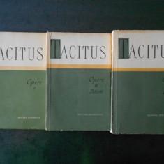 P. CORNELIUS TACITUS - OPERE  3 volume