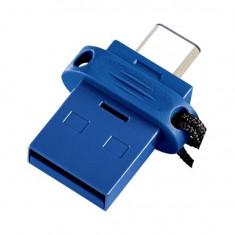 Memorie duala USB 3.0 si Tip C, 16 Gb, Verbatim 49965